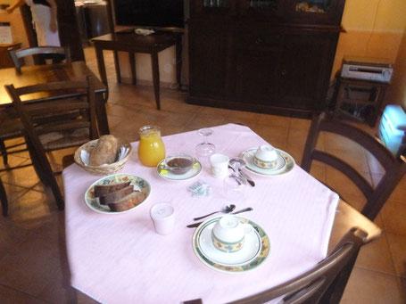 Frühstück a la Italienne