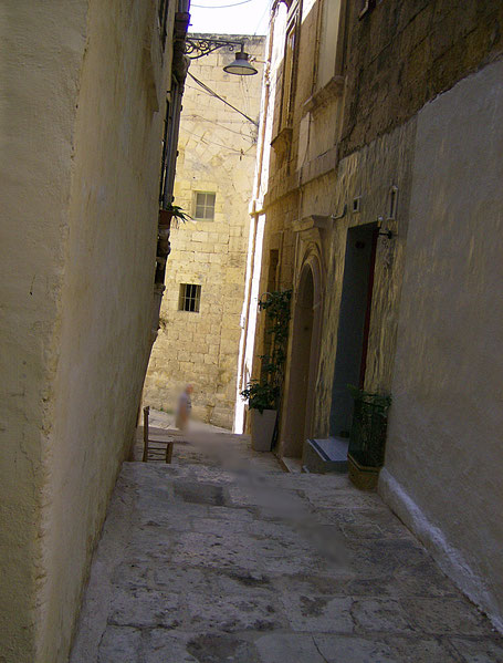 Gasse in Malta