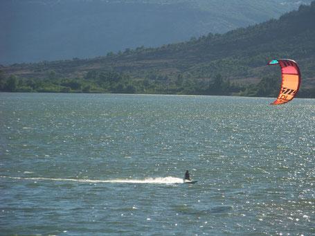 Cours particuliers kitesurf vias plage portiragnes hérault ventileau
