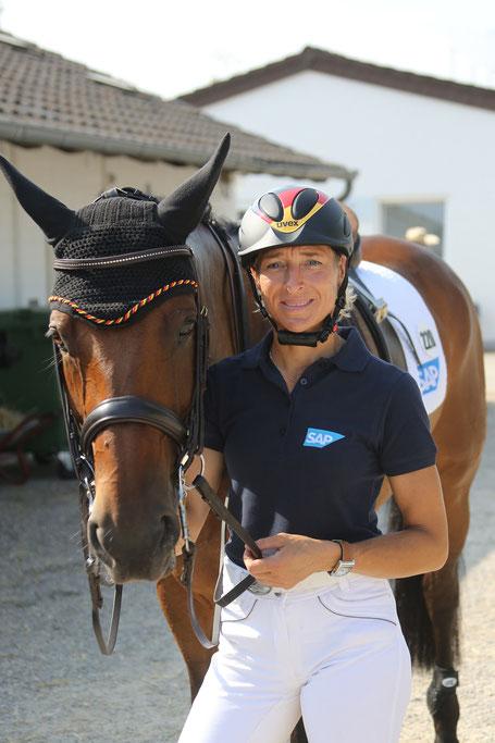 Ingrid Klimke  (Foto: CHIO Aachen/ Michael Strauch)