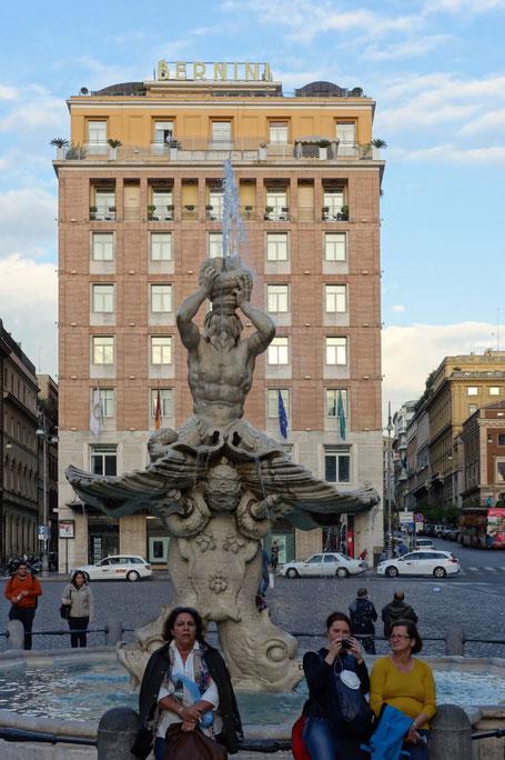 Rom - Fontana del Tritone