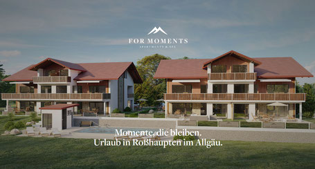 FOR MOMENTS - APPARTEMENTS ROSSHAUPTEN