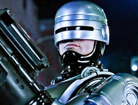 "Szenenfoto aus dem Film ""RoboCop"" (USA 1987) von Paul Verhoeven"