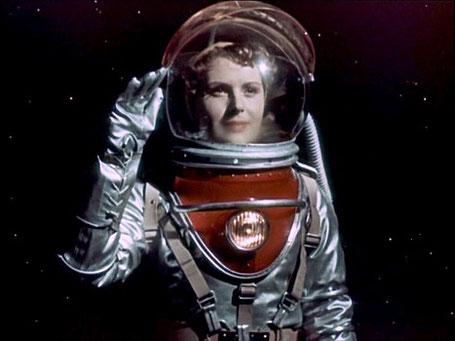 """Szenenfoto aus dem Film """"Der Himmel ruft"""" (Nebo Sowjot, UdSSR 1959) von Michail Karjukow und Alexander Kosyr"""