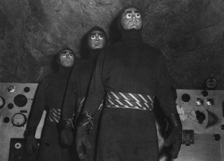 """Szenenbild aus dem Film """"Killers from Space"""" (USA 1954) von W. Lee Wilder"""