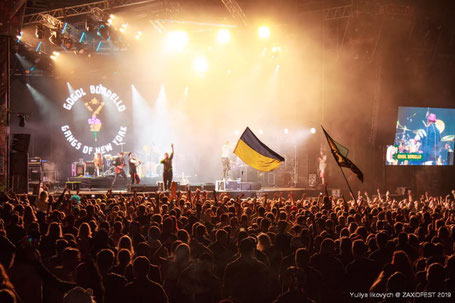 Gogol bordello zaxid festival ukraine lviv