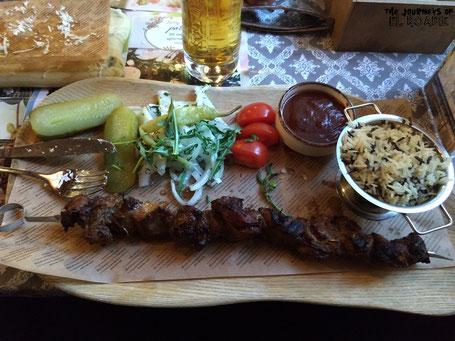 Litauen Essen Food Fleisch
