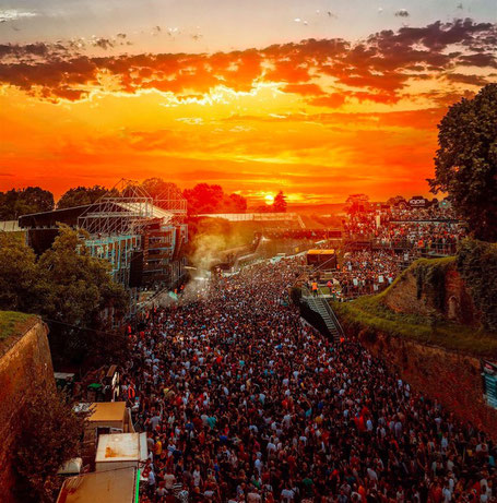 EXIT Festival Novi Sad Sunset Music Dance
