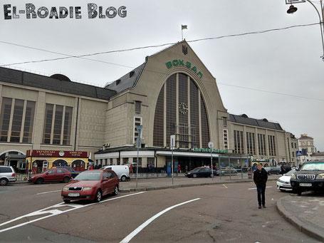 Hauptbahnhof Kiew Ukraine
