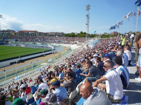 Stadio Adriatico Sonne Fußball