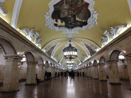 Moscow Metrostation
