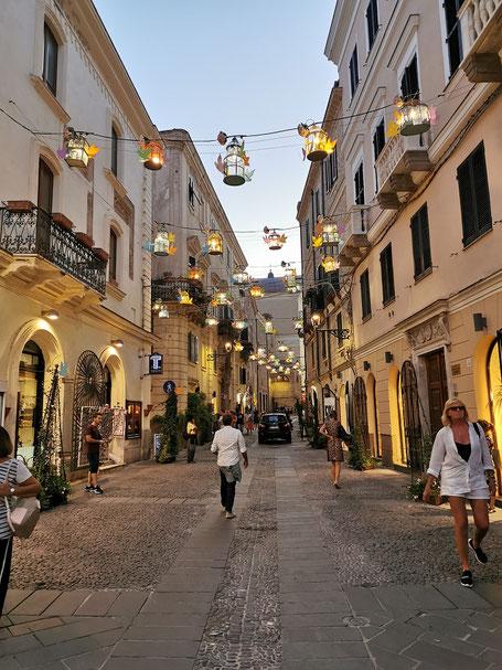 Alghero oldtown Altstadt