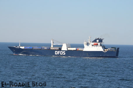 DFDS Fähre Meer Ostsee