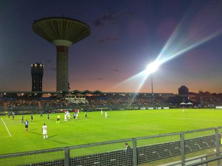 Stadio Domenico Latina Sonnenuntergang Calcio Fußball