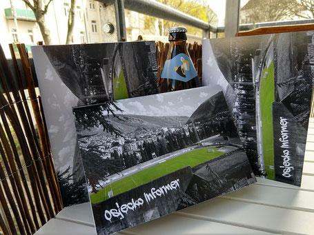 Osjecko Informer Groundhopping Fußball Heft Bier