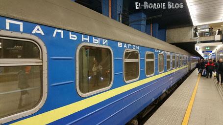 Nachtzug Kiew Warschau Eisenbahn