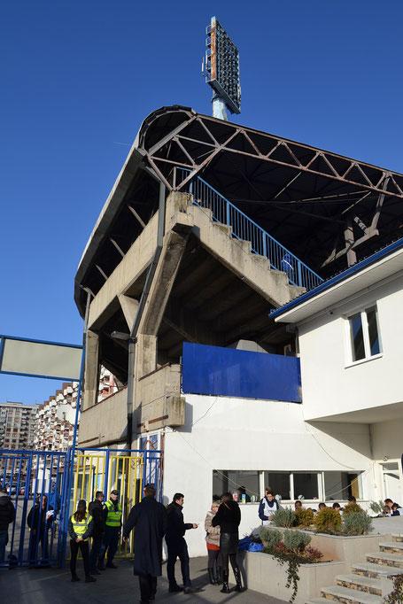 FK Zeljeznicar Sarajevo Stadion Grbavica