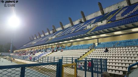 Stadion Osijek gradski vrt Kroatien Fußball Kohorta