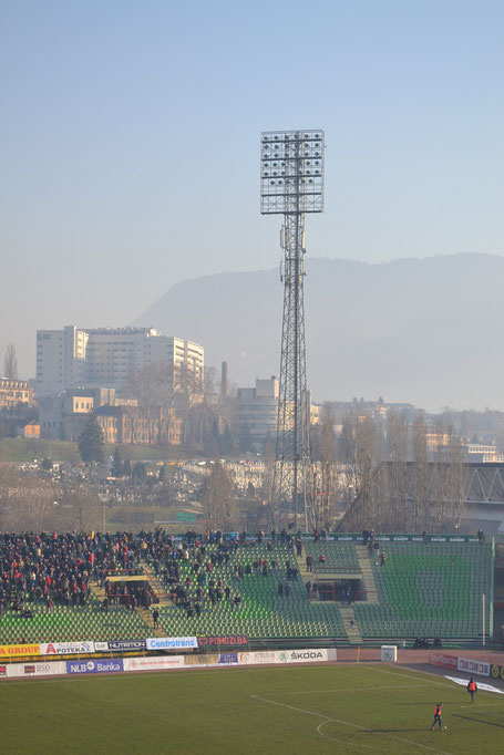 Asim-Ferhatovic-Hase Stadion Flutlicht FK Sarajevo Horde Zla