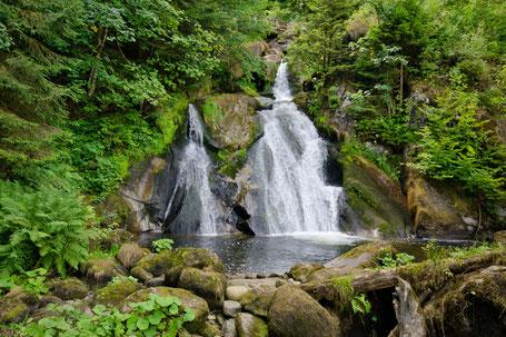 TRIBERG:  Triberger Wasserfälle