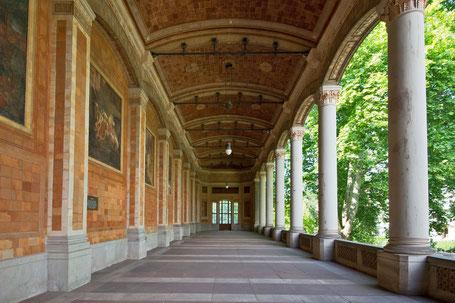 BADEN-BADEN: Trinkhalle - Il vecchio palazzo Termale