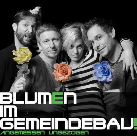 Die Band Blumen im Gemeindebau. (c) Fritz Salek