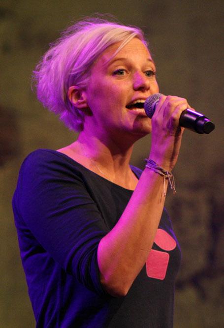 Sängerin Kathrin Sacherer. (c) migglpictures / Hans Juergen Gernot Miggl
