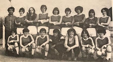 Meister der Bezirksliga Ostsaar 1978/79 | (stehend) Trainer Redel, Ripplinger, Minor, Schulz, Meyer, Reinisch, Boos, Schales, Rosinus | (kniend) Karmann, Fries, Hartz, Weydmann, Hettrich, Lauer, Seel