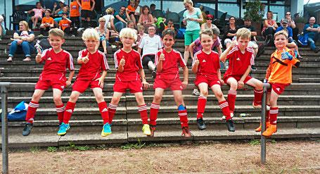 Am 9. Juni 2018 beim Sportfest in Kirkel.