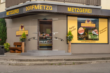 Dorfmetzg Buchs, Metzgerei, Catering, Partyservice Region Aarau und Aargau