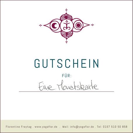 YOGAFLOR GUTSCHEIN Florentine Freytag- Hatha Yoga in Altona / Ottensen Hamburg