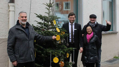 Wir suchen den schönsten Weihnachtsbaum in Füssen: Jetzt abstimmen!