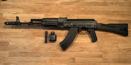 Izhmash Saiga AK47 Kalashnikov MK103  7.62x39