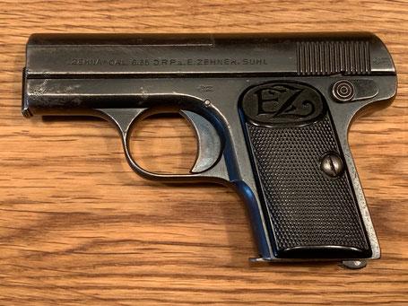Pistole Taschenpistole Zehna E.Zehner Suhl 6.35mm kaufen