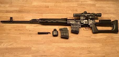 Izhmash Saiga TIGR Dragunov Kalashnikov   7.62x54R