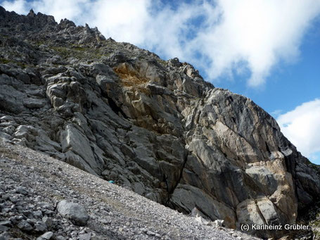 Klettersteig Coburger Hütte : Topo klettergarten colosseo coburger hütte bergprofi ehrwald