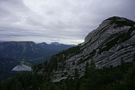 Berg Hund Tal; Almsee; Totes Gebirge; Rotgschirr; Hochpfad; Offensee; Wildensee; Rinnerkogel; Appel Haus; Pühringer Hütte; Seehaus; Alpen; Salzkammergut; Almtal; Grünau