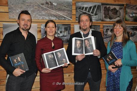 Pieter Clicteur, Twiggy Bossuyt,  Dries Verhegen en Inge Vanoverschelde