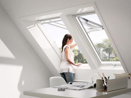 VELUX Klapp-Schwing-Fenster