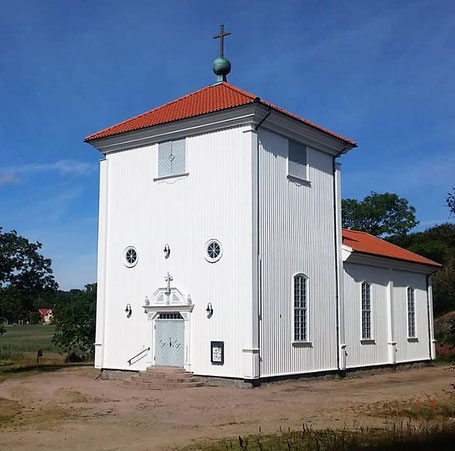 Flatö kyrka, 2017. Foto: okänt