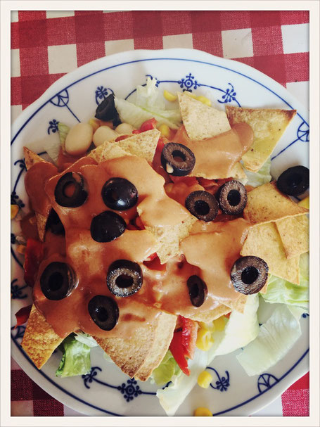 nacho salat mit k seso e essen kosmetik putzmittel etc aus dem thermomix. Black Bedroom Furniture Sets. Home Design Ideas