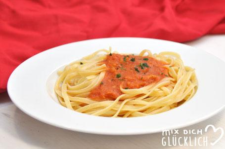 Tomatensoße aus frischen Tomaten Thermomix, Tomatensoße Thermomix, Tomatensoße vegan