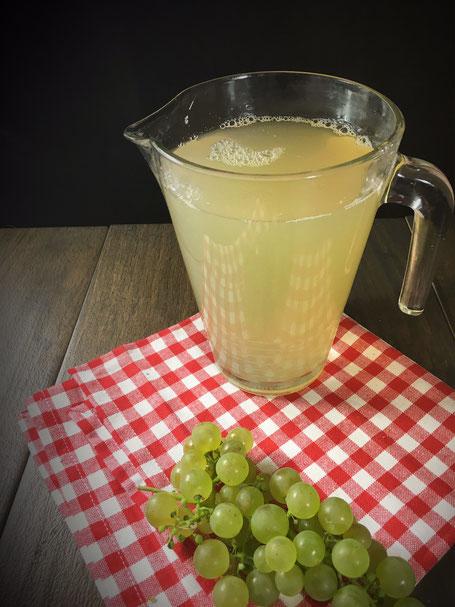 Weintrauben entsaften, Thermomix Entsafter
