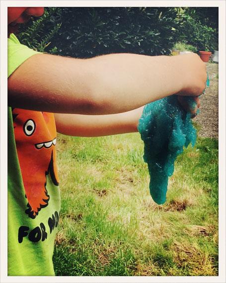 Slime selbst gemacht, Slime Thermomix, Spielschleim selbst gemacht