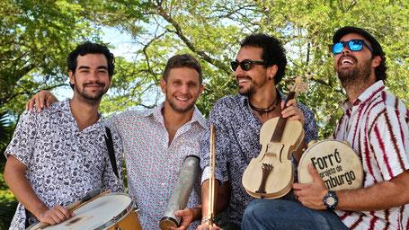 Sternschanze Schanzenzelt Quarteto Olinda