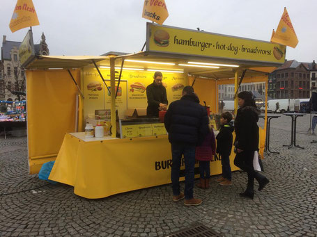 Mobiel Hamburgerkraam