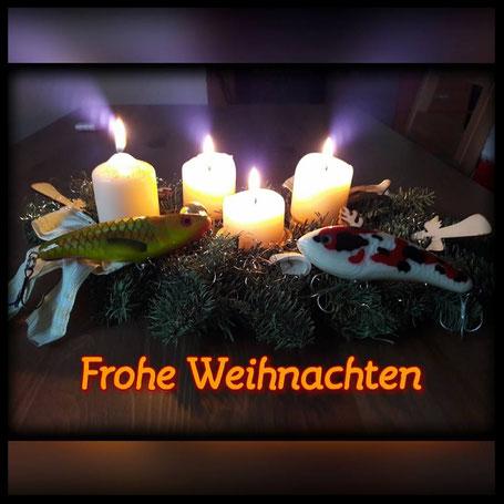 Frohe Weihnachten wünscht Forge of Lures