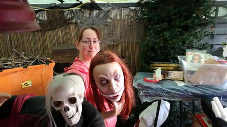 Halloweendeko, Halloweenhaus Lüneburg