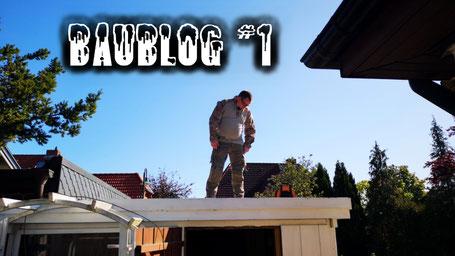 Baublog #1 - Halloweenhaus Lüneburg - Aufbau und Vorbereitungen