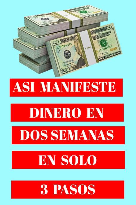 dinero, abundancia, prosperidad, 21 dias de manifestacion de dinero con Ingrith Schaill, como manifestar dinero, 3 pasos para manifestar dinero